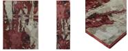 """JHB Design  Strata  Paise 2'3"""" x 8' Runner Area Rug"""