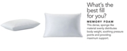 Comfort Revolution Sealy PerfectChill Reversible Memory Foam Pillow