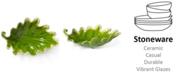 VIETRI Reactive Leaves Collection Bowl