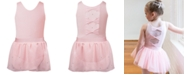 Flo Dancewear Bow Back Leotard & Wrap Skirt Separates, Toddler, Little & Big Girls