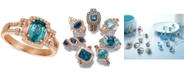 Le Vian Blueberry Zircon (1-5/8 ct. t.w.) & Diamond (1/4 ct. t.w.) Ring in 14k Rose Gold