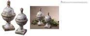 Uttermost Sini Ceramic Finials, Set of 2