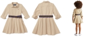 Polo Ralph Lauren Toddler Girls Chino Cotton Shirtdress