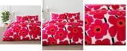 Marimekko Unikko Cotton 2-Pc. Twin Duvet Cover Set