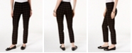 Charter Club Chelsea Plaid Tummy-Control Ankle Pants, Created for Macy's