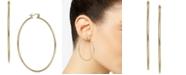 Macy's Large Polished Hoop Earrings in 14k Gold