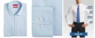 Hugo Boss HUGO Men's Slim-Fit Light Blue Solid Dress Shirt