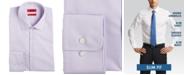 Hugo Boss HUGO Men's Slim-Fit Light Purple Solid Dress Shirt