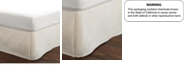 Laura Ashley Twin Solid Tailored White Bedskirt