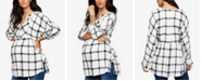 A Pea in the Pod Maternity Plaid Shirt