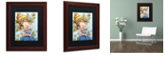 "Trademark Global Jennifer Nilsson Daisy Flower Fairy Matted Framed Art - 16"" x 20"" x 0.5"""