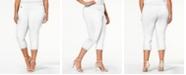 Alfani Plus & Petite Plus Size Tummy-Control Capri Pants, Created for Macy's