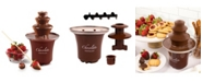 Nostalgia 3-Tier 1-2-Pound Chocolate Fondue Fountain
