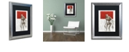 """Trademark Global Craig Snodgrass 'Bleak' Matted Framed Art, 16"""" x 20"""""""