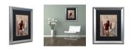 """Trademark Global Craig Snodgrass 'It All Falls Apart' Matted Framed Art, 16"""" x 20"""""""