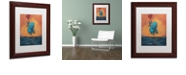 """Trademark Global Craig Snodgrass 'Float II' Matted Framed Art, 11"""" x 14"""""""