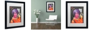 "Trademark Global Craig Snodgrass 'Josie-Jupiter' Matted Framed Art, 16"" x 20"""