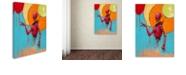 """Trademark Global Craig Snodgrass 'Red Junk Robot' Canvas Art, 14"""" x 19"""""""