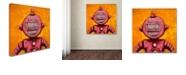 """Trademark Global Craig Snodgrass 'Weebot-Friends' Canvas Art, 14"""" x 14"""""""