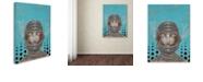 "Trademark Global Craig Snodgrass 'Sally-Saturn' Canvas Art, 18"" x 24"""