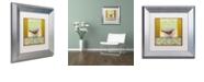"""Trademark Global Rachel Paxton 'Small Bird 233' Matted Framed Art, 11"""" x 11"""""""