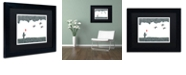 "Trademark Global Viz Art Ink 'Childhood Dreams' Matted Framed Art, 11"" x 14"""