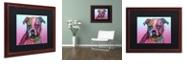 """Trademark Global Dean Russo 'Melt My Heart' Matted Framed Art, 16"""" x 20"""""""