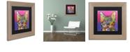 "Trademark Global Dean Russo 'Shiva' Matted Framed Art, 11"" x 11"""