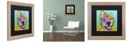 """Trademark Global Dean Russo 'Calendar Roxy' Matted Framed Art, 16"""" x 16"""""""