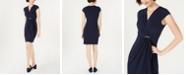 Charter Club Petite Surplice Wrap Dress, Created for Macy's