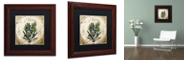 """Trademark Global Color Bakery 'Mangia V' Matted Framed Art, 11"""" x 11"""""""