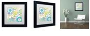 "Trademark Global Color Bakery 'Esperanza I' Matted Framed Art, 11"" x 11"""