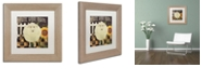 """Trademark Global Color Bakery 'Vermont Farms Iv' Matted Framed Art, 11"""" x 11"""""""