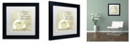 "Trademark Global Color Bakery 'Southern Belles Two' Matted Framed Art, 11"" x 11"""