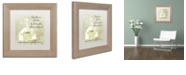 """Trademark Global Color Bakery 'Southern Belles Two' Matted Framed Art, 11"""" x 11"""""""