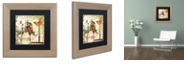 "Trademark Global Color Bakery 'Vermont Summer Iii' Matted Framed Art, 11"" x 11"""