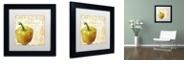 """Trademark Global Color Bakery 'Cafe D?Or Vii' Matted Framed Art, 11"""" x 11"""""""