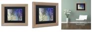 """Trademark Global Color Bakery 'Garden Waltz Iii' Matted Framed Art, 11"""" x 14"""""""