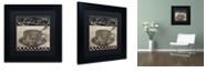 """Trademark Global Color Bakery 'Bistro Parisienne Iv' Matted Framed Art, 11"""" x 11"""""""
