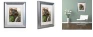 "Trademark Global Color Bakery 'Cabela Iii' Matted Framed Art, 11"" x 14"""
