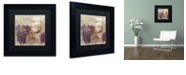 """Trademark Global Color Bakery 'Tuscany Dreams I' Matted Framed Art, 11"""" x 11"""""""