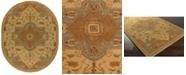 Surya CLOSEOUT!  Caesar CAE-1146 Tan 8' x 10' Oval Area Rug