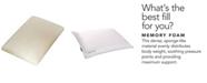 Carpenter Co. Isocool Memory Foam Standard Traditional Pillow