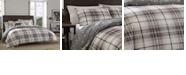 Eddie Bauer Alder Plaid Charcoal King Comforter Set
