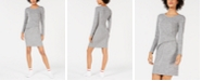 Bar III Ruched-Waist Dress, Created for Macy's