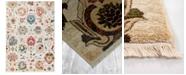 """Liora Manne' Calais 6079 Vintage Floral 4'11"""" x 7'5"""" Area Rug"""