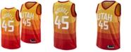 Nike Men's Donovan Mitchell Utah Jazz City Swingman Jersey 2018