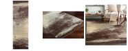 "Surya Felicity FCT-8005 Dark Brown 2'6"" x 8' Runner Area Rug"