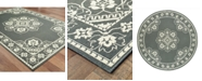 """Oriental Weavers Marina 7764 7'10"""" Indoor/Outdoor Round Area Rug"""