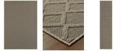"""Oriental Weavers CLOSEOUT!  Santa Rosa 2331Y Gray/Gray 7'10"""" x 10'10"""" Indoor/Outdoor Area Rug"""